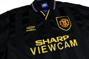 1993-95 Manchester United Maglia Away XL (Top)