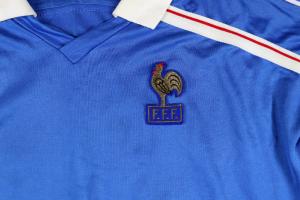 1986 Francia Maglia Home #10 Platini M