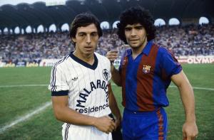 1982-89 Barcelona Pantaloncini Home (Top)