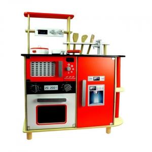 Cucina per bambini in legno Sofia con forno e accessori