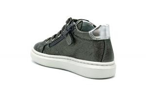 Sneaker bambina in pelle