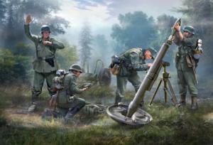 German 120mm Mortar