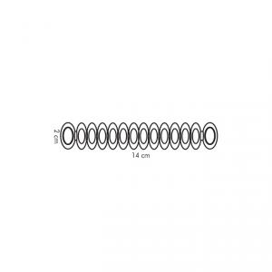 Tescoma Anelli segna calici, 12 colori UNO VINO