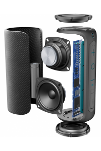 Cellularline Thunder 10 W Altoparlante portatile stereo Nero