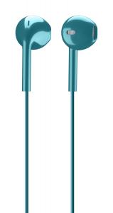 Cellularline Live - Universale Auricolare pump bass a capsula ovale Verde