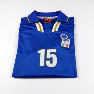 1996-97 Italia Maglia Home Match Issue  #15 L (TOP)