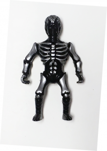 Musculoids figure: Black Mold Skeletoid