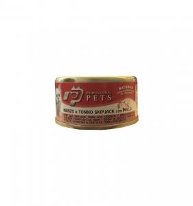 PROFESSIONAL PETS GATTO MANZO, TONNO E POLLO 70 GR