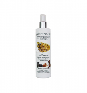 OFFICINALIS SHAMPOO SECCO ALL'ELICRISO  PER CANI E GATTI 250 ML