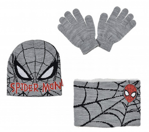 Cappello Scaldacollo e Guanti Spiderman Inverno 2021
