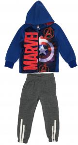 Tuta Capitan America Avengers Misura da 3 a 8 Anni Inverno 2021