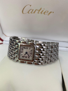 Orologio secondo polso Cartier Panthere Ruban Lady