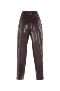 Pantalone lucido stampato