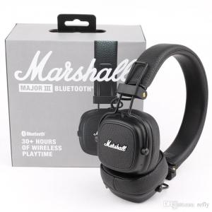 Marshall Major III bluetooth cuffie senza fili colore nero