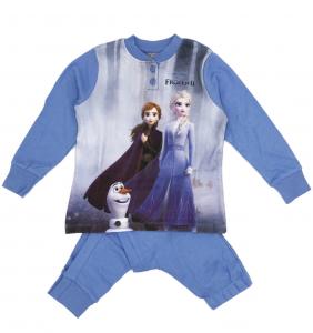 Frozen II Pigiama Caldo Cotone Inverno 2021