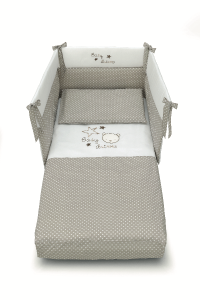 Piumone Paracolpi Baby Dream Azzurra design