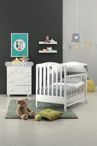 Cameretta con Bagnetto Baby Dream Azzurra design