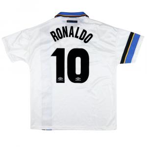 1997-98 Inter Maglia Away #10 Ronaldo XL (Top)