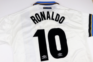 1997-98 Inter Maglia Away #10 Ronaldo XL (Top)