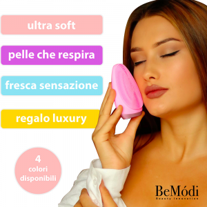 Cepillo Sonico para la Limpieza Facial BeModi - Morado