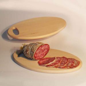 Tagliere uovo in legno di Faggio