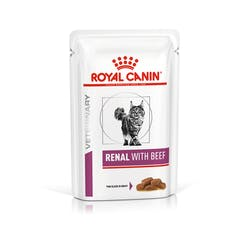 ROYAL CANIN  Renal umido per gatto ,pollo,pesce o manzo 85gr
