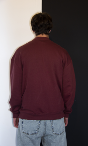 SWEATSHIRT BORDEAUX MAN
