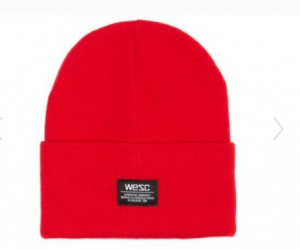 Cappello Wesc Puncho Beanie Red