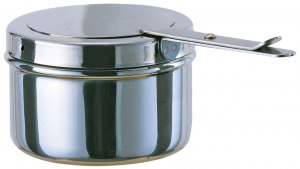 Fornello per scaldavivande in acciaio inox cm.6h diam.9