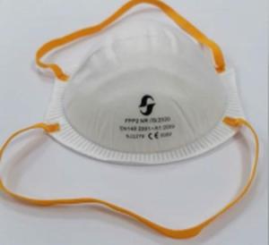 Mascherine FFP2 NR a conchiglia senza valvola - Certificate CE