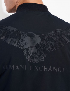 Bomber uomo ARMANI EXCHANGE con grafica