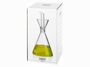Ampollina in vetro olio o aceto 350ml