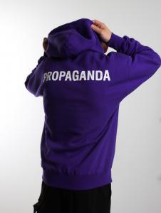 Felpa Propaganda Snake Hoodie Purple