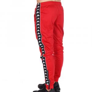 Kappa Pantalone Rosso con Banda da Uomo/Kids
