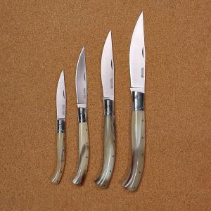 KNIFE ORIGINAL ARBURESA DA SCANNO MANICO IN CORNO DI BOVINO