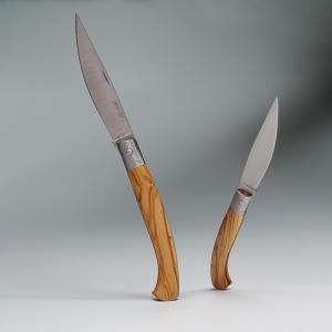 KNIFE ORIGINAL ARBURESA DA SCANNO MANICO IN LEGNO DI ULIVO