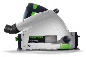 Festool SEGA AD AFFONDAMENTO TS-55-REBQ-PLUS-FS con guida