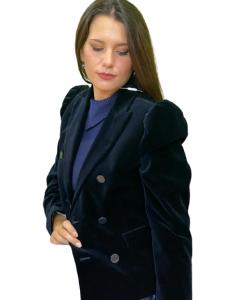 Giacca in velluto blu - Sportmax Code