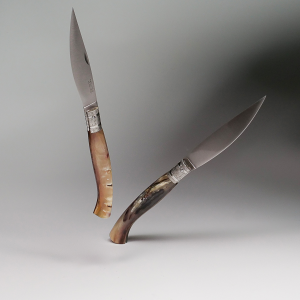 KNIFE ORIGINAL ARBURESA DA SCANNO MANICO IN CORNO DI MONTONE