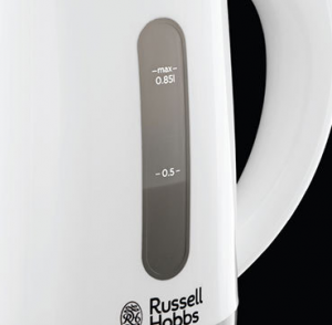 Russell Hobbs 23840-70 bollitore elettrico 0,85 L Grigio, Bianco 1000 W