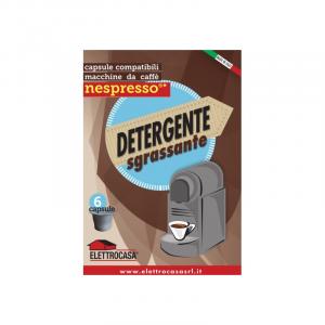Elettrocasa AS47 Detergente Sgrassante Compatibile per Macchine Caffe' Nespresso