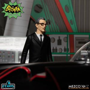 *PREORDER* Deluxe Box Set Batman (1966) Action Figures: Serie Completa by Mezco Toys