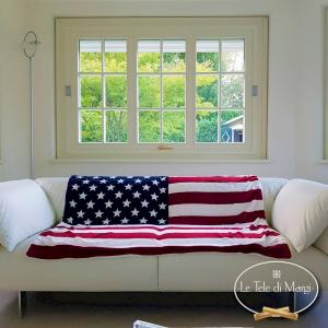 Plaid Bandiera americana