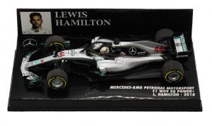 Mercedes - AMG Petronas Motorsport F1 W09 Eq Power+ Lewis Hamilton 2018 1/43