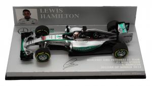Mercedes AMG Petronas F1 Team F1 W06 Hybrid Louis Hamilton Belgian Gp Winner 2015 1/43