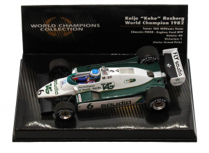 TAG Williams Team FW08 Ford Dfv Keijo