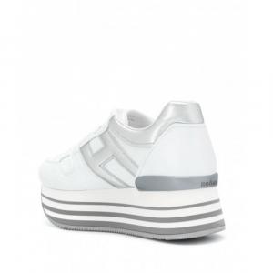 Sneaker Maxi H222 Argento, Bianco donna HOGAN HXW2830T548O6T0351 -20