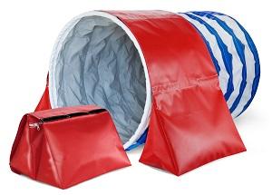 Pacco Convenienza: 6 sacchi ferma tunnel