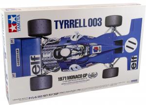 Kit Tyrrell 003 1971 Monaco Gp 1/12