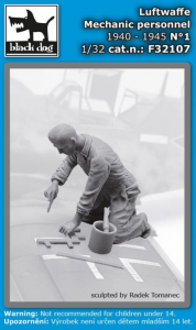 Luftwaffe mechanic personnel N°1